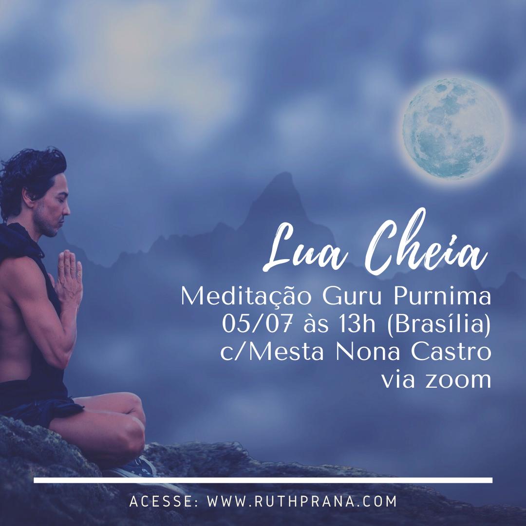 Meditação da Lua Cheia Guru Purnima